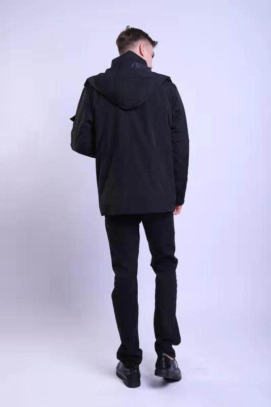 黑色冲锋衣工装