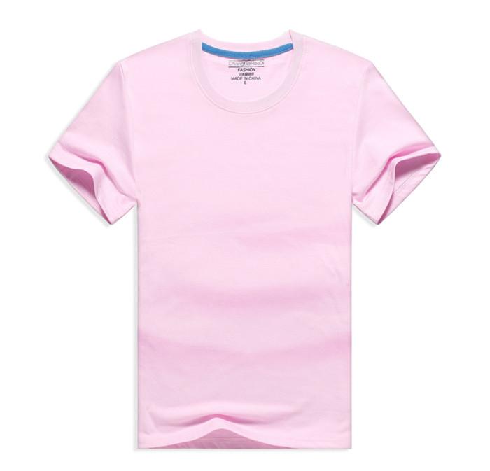 圆领T恤衫产品促销广告宣传定制logo